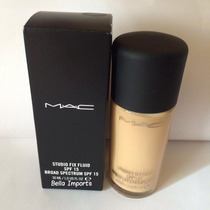 Base Mac Studio Fix Fluid Spf 15 Cor Nc20 Original 30ml