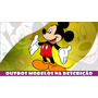 Painel Lona Banner Decorativo Festa Mickey Baby Disney 2x1m