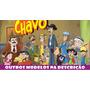 Painel Decorativo Festa Infantil Lona Banner Chaves 2x1m
