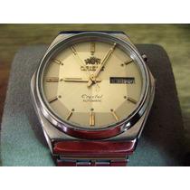 Reloj Orient Automático. Crystal. 3 Estrellas.