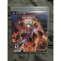 Ultímate Marvel Vs Capcom Ps3 Con Manual Completo