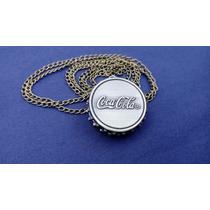 Reloj Metalico En Forma De Corcholata Coca-cola
