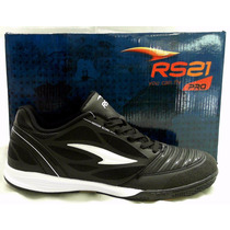 Rs21 Zapato Football Sala De Adulto 014391 Negro