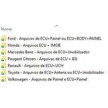Banco De Dados Arquivos Procedimentos Softwares Reparo Ecu