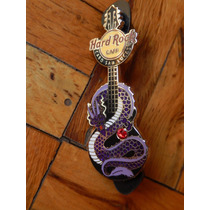Hard Rock Cafe Pin Guitarra Dragon C/piedra Cabo San Lucas