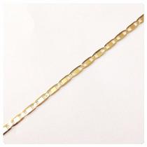Pulseira Masculina Piastrine Em Ouro 18k-750- Frete Grátis