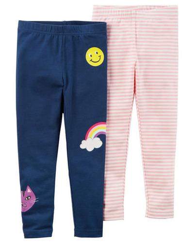 2 De Carter Nuevo Paquete Polainas Pantalones Arco Iris -   157.990 ... b37b5678760