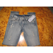 Jeans Destroyed Modelo Skinny Les Halles!!!