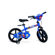 Bicicleta Aro 14 Super Homem Brinquedo Bandeirante