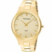 Relógio Technos Masculino Slim Classic Gl20gr/4x
