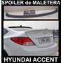 Spoiler Lip De Maletera Hyundai Accent 2012 - 2016 Cola Pato