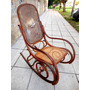 Antiguo Sillon Mecedora Estilo Thonet Roble A Restaurar