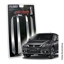 _friso Para-choque Cromado Honda New Civic 96 97 98 Jg 4pçs