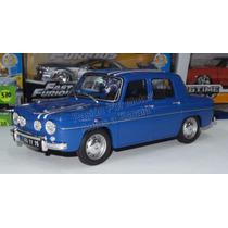 1:18 Renault 8 Gordini 1300 Azul Otto Mobile En Resina Ccaja