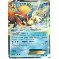 Keldeo Ex, Holofoil, Original Em Português - Fronteiras Cruz