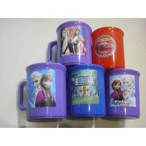 Tazas Plasticas Personalizadas Souvenir Lavables Colores 10u