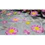 Ref. 10 - Floral Fundo Preto