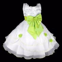 Vestido Infantil Casamento Festa Aniversário Dama Florista