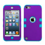 Funda Protector Triple Layer Apple Ipod Touch 5g / 6g Morado