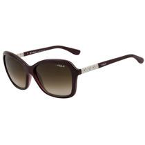 Vogue Vo 5021 Bl - Óculos De Sol 237513 Roxo Brilho/ Marrom