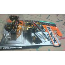 Matchbox Ford Bronco 4x4 Negra Lyly Toys