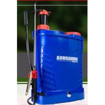 Pulverizador 20l Costal Eletrica/manual Kawashima + Brinde