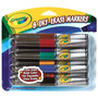 Crayola 8 Ct Dry Erase Markers Chisel Tip