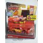 Rayo Mc Queen Con Cartel Cars Disney Pixar Mattel - Gianmm