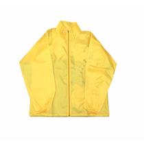 Camperas Rompeviento Amarillas Lisas