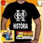 Camiseta Historia Camisa Universitaria Unissex Cursos Escola