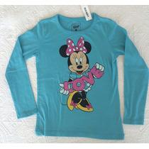 Blusa Para Niña Minnie Mouse Talla S (6/7)