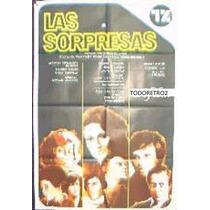 Afiche Las Sorpresas Juana Hidalgo, Edgardo Lusi 1975