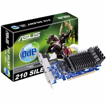Placa Video Geforce 210 0db Silent 1gb Ddr3 Asus Hdmi Dvi