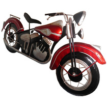 Quadro 3d Moto Harley Davidson Para Parede Em Metal