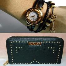 Surmarket Billetera+reloj Importadas Mujer Combo Día Madre