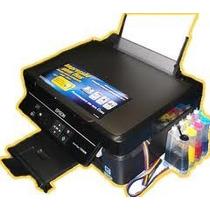 Impressora Epson Tx235w Com Bulk Wifi Sublimática Aproveite