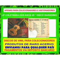 Lp Vinil Coletanea De Musica Sertaneja Dos Anos 60 Reliquia