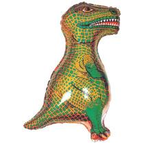 Globos Metalizados Dinosaurio Rex 10 Unidades - Combo Cumple