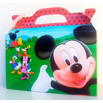 Cajita Mickey Mouse X15 + 15 De Minnie (pack X30)