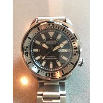 Relógio Seiko Srp227 Baby Tuna Mod, Safira