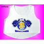 Crop Tops Damas Gym Fitness Leones Magallanes Béisbol