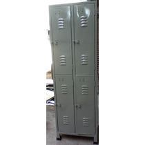 Armario Roupeiro Em Aço 04 Portas Grandes
