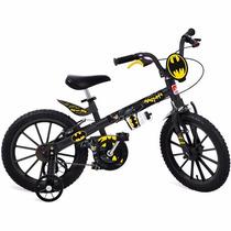 Bicicleta Batman Aro 16 Brinquedos Bandeirantes