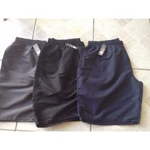 Kit Bermuda Short Plus Size Tamanho Grande Masculino 4 Unid