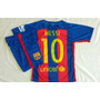 Nuevo Conjunto 2017 Barcelona! Camiseta+short Niños Envíos
