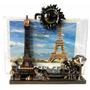 Hermoso Porta Retrato Y Lapicero Paris Torre Eiffel Deco