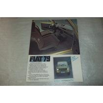 Catalogo Tecnico Fiat 147 G L Linha 79 Caracteristicas Tecn
