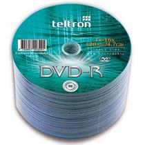 Dvd-r Teltron 4.7 Gb X50 Fact.a-b Mejor Precio Stock Siempre