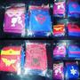 Souvenirs Capas Superheroes Y Antifaz Batman Superman Iroman