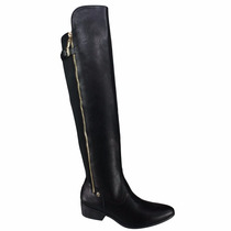 Bota Via Marte Over Knee Com Stretch 16-302 - Maico Shoes